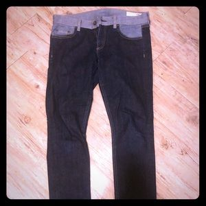 Rag and bone dark wash jeans